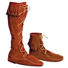 MENS Medieval High Boot with Fringe - 100256 by Medieval Collectibles