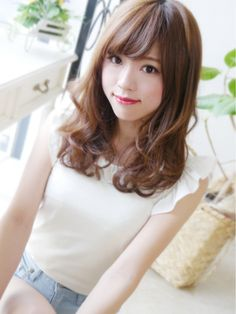 【ジュレベール 松田】 可愛いクールセミディ - 24時間いつでもWEB予約OK!ヘアスタイル10万点以上掲載!お気に入りの髪型、人気のヘアスタイルを探すならKirei Style[キレイスタイル]で。