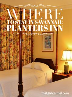 Planters Inn on Reynolds Square in Savannah is an ideal place to stay in the heart of the city's historic district. Best Boutique Hotels, Best Hotels, Savannah Georgia, Savannah Chat, Luxury Beach Resorts, City Break, Trip Planning, Traveling By Yourself, Places To Go