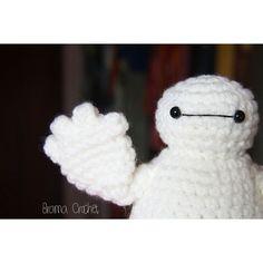 Hi!!  #bramacrochet #amigurumi #amigurumilove #crochetdolls #crochetlove  #crochet #あみぐるみ #baymax #bighero6 #hero #etsy