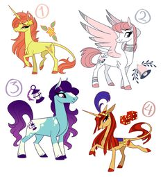 MLP Adopts - Available! by probablyfakeblonde
