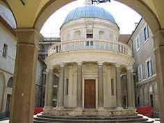 Templete de San Pietro in Montorio, de Bramante (1502-1510).