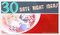 30 Date Night Questions for Couples to have a fun date night in!  (Free Printable Version Too!)