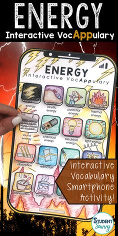 StudentSavvy: Earth Day Activities for the Elementary Classroom Science Lesson Plans, Science Resources, Science Lessons, Science Activities, 7th Grade Science, Middle School Science, Kinetic And Potential Energy, Kinetic Energy, Science Classroom