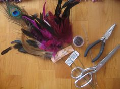Diy feather hair extensions b day party ideas pinterest do it yourself hair extensions hairextensions virginhair humanhair remyhair solutioingenieria Gallery
