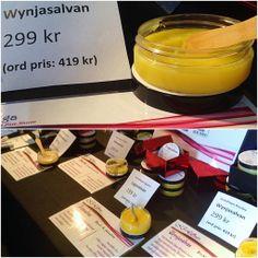 SMAKLYCKA | Guldkorn i Livet , Naturkrämer Candle Jars, Candles, Pure Products, Candy, Candle, Pillar Candles, Lights