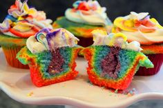 Life Is Sweets: What's at the end of the Rainbow Cupcake experiment?