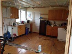 Before: new kitchen coming soon from local kitchen producer #Foss #kjøkken #renovation #interior #interiør