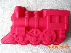 Train Single Pie Pudding Jelly Mold Silicone cake mold, chocolate mold, ice mold, jelly mold, soap mold, candle mold on Etsy, $6.99