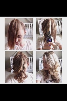 Quick way to curl hair
