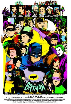 Batman 1966 Season 3 poster by Andy Fish Batman 1966, Batman Art, Batman Comics, Batman Robin, Dc Comics, Batman Tv Show, Batman Tv Series, Comic Book Characters, Comic Book Heroes