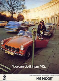 MG Midget : You can do it!