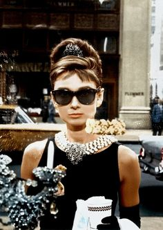Breakfast at Tiffanys. Classic.  A reminder of my dear friend and the many times we watched this recovering from a night out.