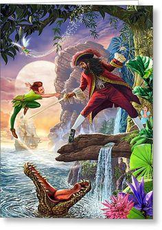 Peter Pan Art, Peter Pan Kunst, Art Disney, Disney Kunst, Disney Movies, Disney Collage, Disney And Dreamworks, Disney Pixar, Disney Peter Pan