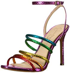 Jessica Simpson Womens JOSELLE Bright Multi 8 Medium US -- You can find out more details at the link of the image. (This is an affiliate link)