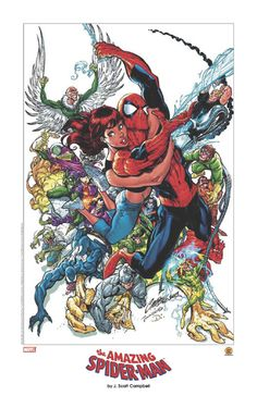 The Amazing Spider-Man by J. Scott Campbell