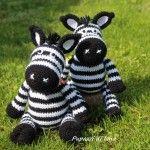 Zebra amigurumi – Schema gratuito.