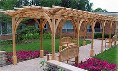 garden pergola designs outdoor pergola designs x 304 87 kb jpeg x Wisteria Pergola, Pergola Canopy, Backyard Pergola, Pergola Plans, Pergola Ideas, Patio Ideas, Gazebo, Rustic Pergola, White Pergola