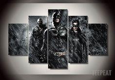 Dark Knight - 5 Piece Canvas LIMITED EDITION - The Nerd Cave - 1