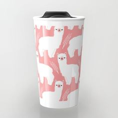 Buy The Alpacas II Travel Mug by littleoddforest. Worldwide shipping available at Society6.com. Just one of millions of high quality products available.