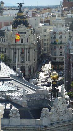 La gran via de Madrid 2013