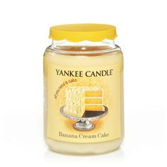 Banana Cream Cake - What's New - Yankee Candle