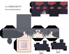 papercraft | Cool Akatsuki Papercraft | Japan Media Online