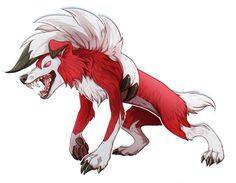 Lycanroc by badass-doctor