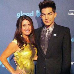 Adam Lambert and Mom Leila