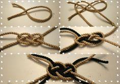 1000 images about les noeuds on pinterest sliding knot knots and macrame. Black Bedroom Furniture Sets. Home Design Ideas