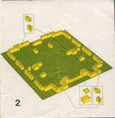 Old LEGO® Instructions | letsbuilditagain.com How To Make Building, Lego Building, Lego Castle Instructions, Legos, Lego Structures, Classic Lego, Lego Juniors, Lego Challenge, Lego Activities