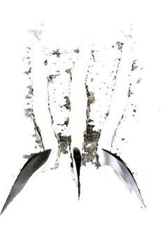 diseño gráfico garras wolverine