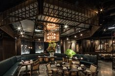 Mott 32 restaurant by  JOYCE WANG, Hong Kong hotels and restaurants