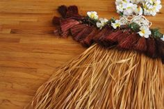 diy hula skirt | hula skirt tahitian skirt, kids craft, kids hula skirt, paper bag hula ...