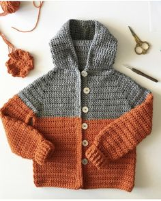 Last year, I made the above sweater for my niece Lucelia and meant to write out the pattern but you…