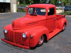 Red 46 Ford Custom