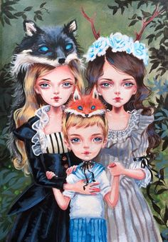 Kai Fine Art is an art website, shows painting and illustration works all over the world. Art After Dark, Girl Artist, Creepy Art, Lowbrow Art, Pop Surrealism, Anime Art Girl, Whimsical Art, Surreal Art, Cool Art