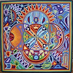 Huichol String Art