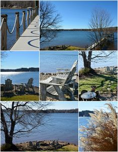 Bird's Eye View January Lake Norman Views | ©homeiswheretheboatis.net #LKN #lake #winter