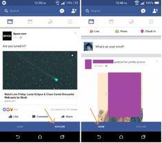 Facebook ha in fase di test una nuova barra di navigazione https://www.sapereweb.it/facebook-ha-in-fase-di-test-una-nuova-barra-di-navigazione/        Esattamente come glisviluppatori di Google, anche gli sviluppatori di Facebook sono alla costante ricerca di miglioramenti ed affinamentidel servizio e delle app mobile tali da renderel'esperienza utente migliore. L'ultimo cambiamento di cui abbiamo notizia si riferisce,...