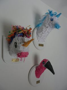 Pinata /Art for Kids Rooms by PinataSafari on Etsy, $40.00  I need this for my studio!