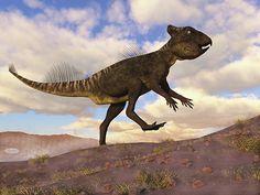 Archaeoceratops Dinosaur - Render by Elenarts - Elena Duvernay Digital Art