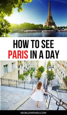 How to see Paris in a day: top things not to miss during 1 day in Paris! Here's the best itinerary for Paris in one day combining sightseeing and some hours of fun. #paris #france #paristravel #parisitineraries