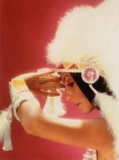 "Cher ""Half Breed"" portrait, c. 1973."