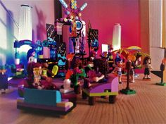 Lego Friends got to a Rave #2 by Damabupuk on DeviantArt