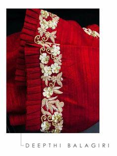 Cutwork Blouse Designs, Pattu Saree Blouse Designs, Fancy Blouse Designs, Bridal Blouse Designs, Sleeves Designs For Dresses, Blouse Neck Designs, Stylish Blouse Design, Designer Blouse Patterns, Crochet