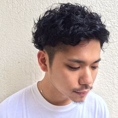 高円寺 美容室 -menos(メノス)- Perm Hair Men, Mens Perm, Curly Hair Cuts, Curly Hair Styles, Permed Hairstyles, Cool Hairstyles, Asian Perm, Classic Mens Hairstyles, Short Hair