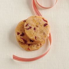Our Favorite Cranberry Recipes: Cranberry-Pecan Cheese Wafers