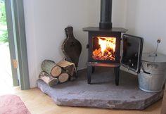 A log burner is even supplied at Borleymere Shepherds Hut!