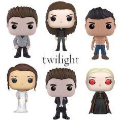 Figurines au format POP! de chez Funko autour de la saga Twilight ! Edward, Bella, Jacob et compagnie : une collection pour les fans !